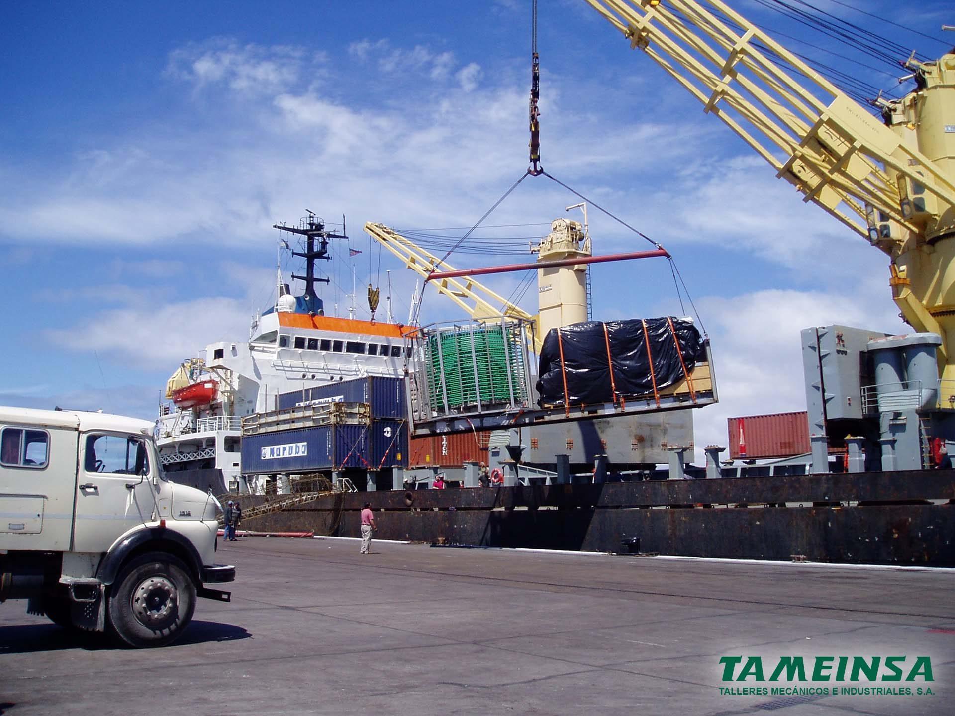 Transporte en barco