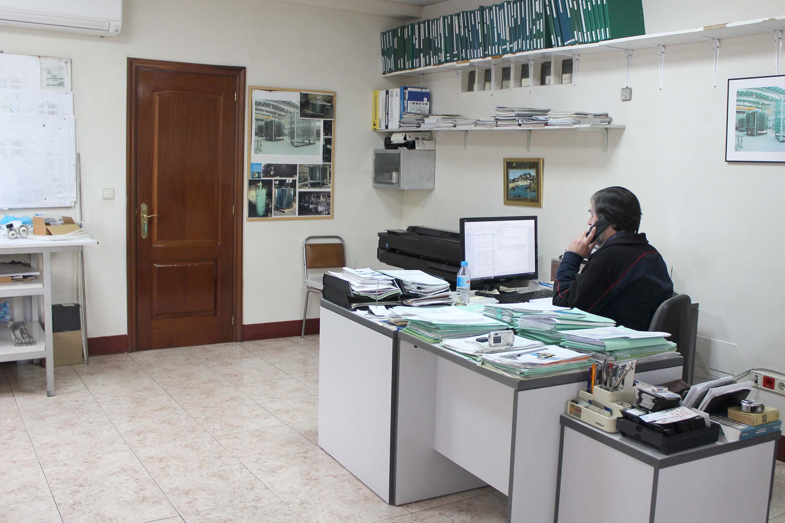 Oficina t cnica tameinsa for Oficinas ing en madrid